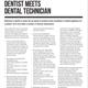 Dentists meets Dental Technician