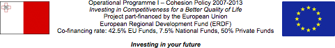 ERDF EU Programm